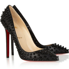 Christian Louboutin PIGALLE Spiked Pumps
