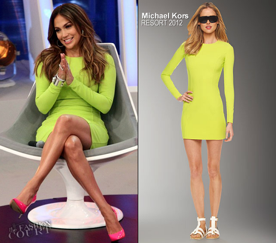 Jennifer Lopez in Michael Kors | Live Interview in San Paolo