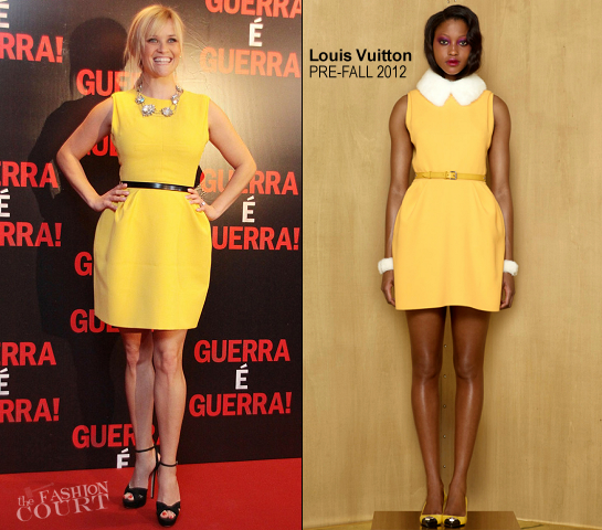 Reese Witherspoon in Louis Vuitton | 'This Means War' Rio Premiere