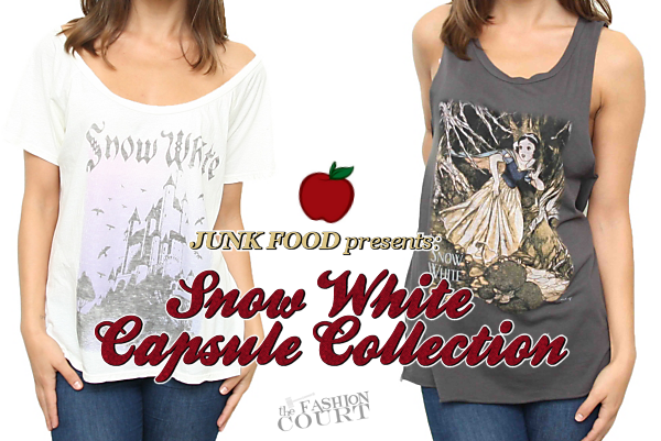 Junk Food Takes On the Power of Snow White with Capsule Collection!