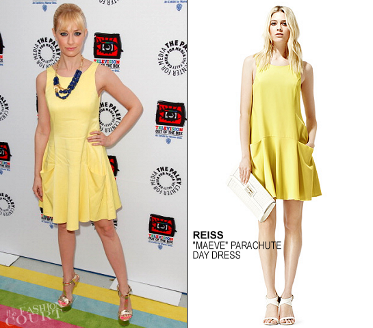 Beth Behrs in Reiss | 'Television: Out Of The Box' Opening