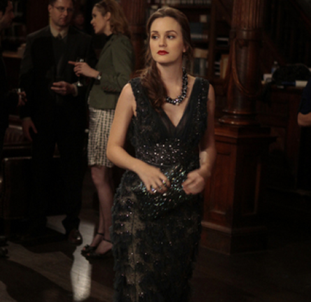 Leighton Meester in Elie Saab Couture | Gossip Girl - Episode #5.21 'Despicable B'