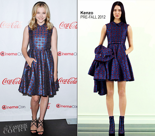 Chloe Moretz in Kenzo | CinemaCon 2012 Awards Ceremony