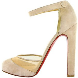 Christian Louboutin Vicky Jane Ankle-Strap Pumps