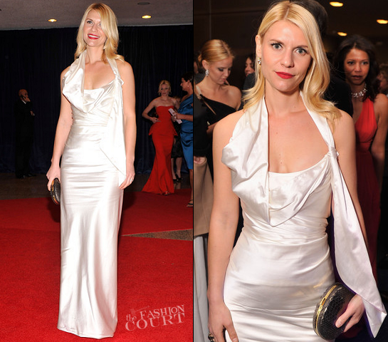 Claire Danes in Vivienne Westwood | White House Correspondents' Association Dinner