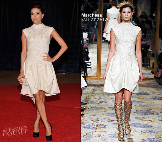 Eva Longoria in Marchesa | White House Correspondents' Association Dinner