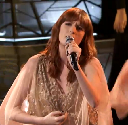 Florence Welch in Elie Saab | NBC's 'The Voice'