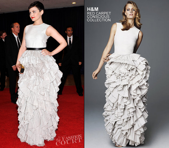 Ginnifer Goodwin in H&M | 2012 White House Correspondents' Association Dinner