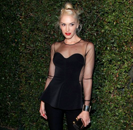Gwen Stefani in Stella McCartney | 'My Valentine' Video Premiere Hosted by Paul McCartney & Stella McCartney