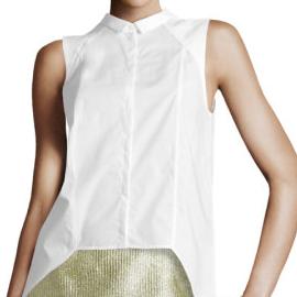 H&M Sleeveless Woven Blouse