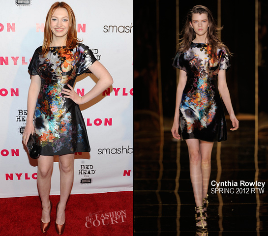 Jacqueline Emerson in Cynthia Rowley | NYLON Magazine 13th Anniversary Celebration