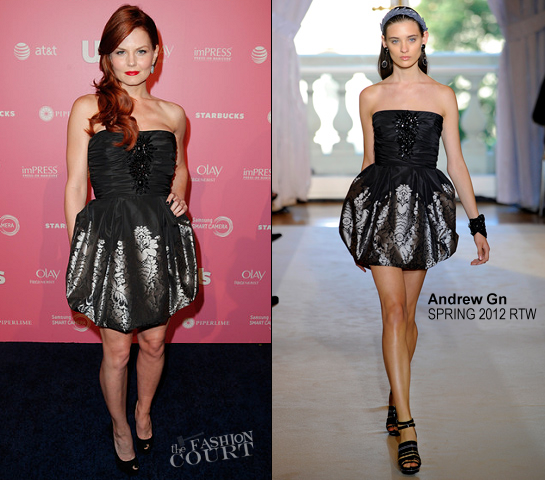 Jennifer Morrison in Andrew Gn | Us Weekly Hot Hollywood Style Event