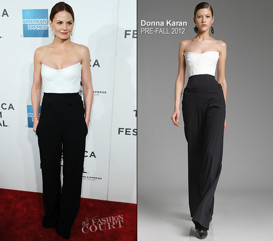 Jennifer Morrison in Donna Karan | 'Knife Fight' Tribeca Film Festival Premiere