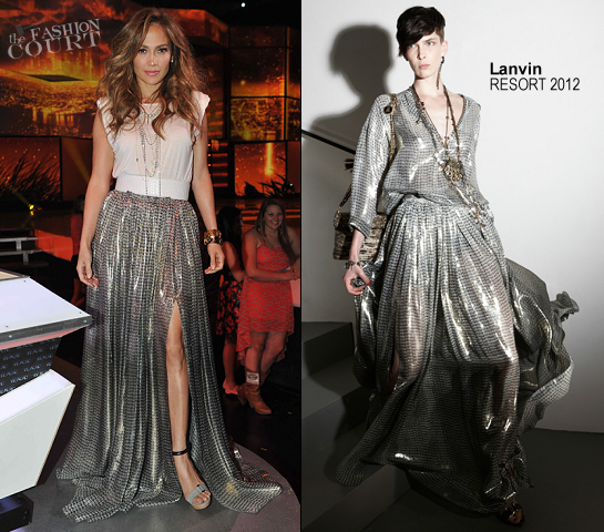 Jennifer Lopez in Lanvin | 'American Idol' Top 8 Live Performance Show