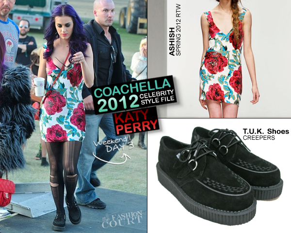 Katy Perry in Ashish | 2012 Coachella Valley Music & Arts Festival - Day 3