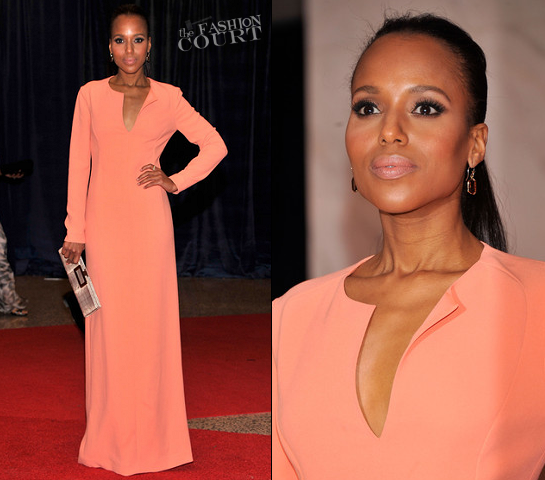 Kerry Washington in Calvin Klein Collection | White House Correspondents' Association Dinner