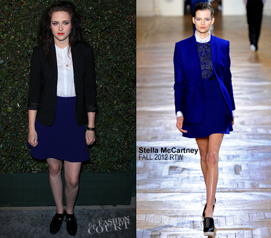 Kristen Stewart in Stella McCartney | 'My Valentine' Video Premiere Hosted by Paul McCartney & Stella McCartney