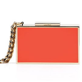 Lanvin Spring 2012 Box Clutch