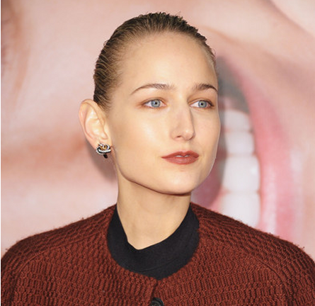 Leelee Sobieski in Boy. by Band of Outsiders | 'The Five Year Engagement' NY Premiere