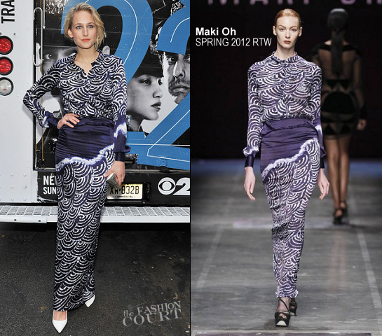 Leelee Sobieski in Maki Oh | 'NYC 22' New York Premiere