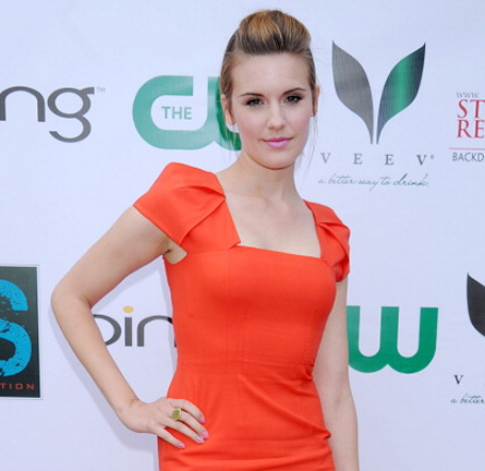 Maggie Grace in Rachel Roy | Ian Somerhalder Hosts 'The Influence Affair'