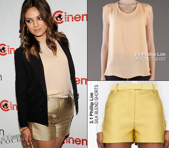 Mila Kunis in 3.1 Phillip Lim | CinemaCon - Walt Disney Studios 2012 Presentation Highlights