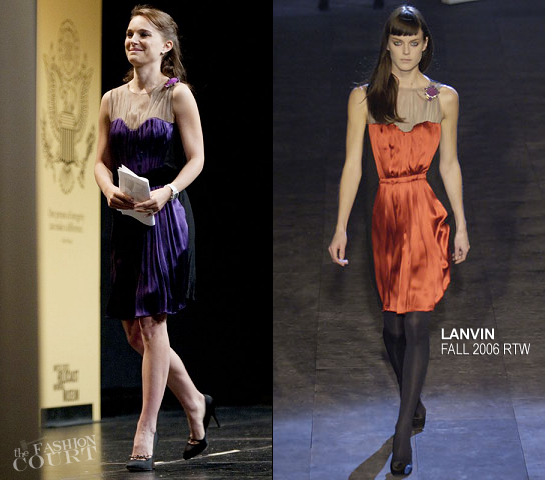 Natalie Portman in Lanvin | 2012 Elie Wiesel National Tribute Dinner