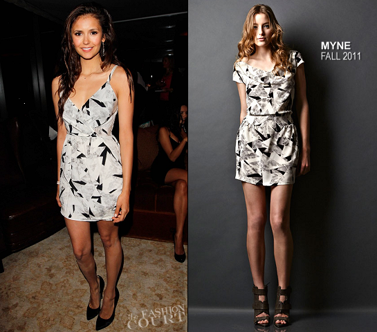 Nina Dobrev in Myne | Glamour's 'Thirty Things Every Woman Should Have and Should Know by the Time She's 30' Party