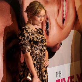 Olivia Wilde in Yigal Azrouel | 'The Five Year Engagement' NY Premiere