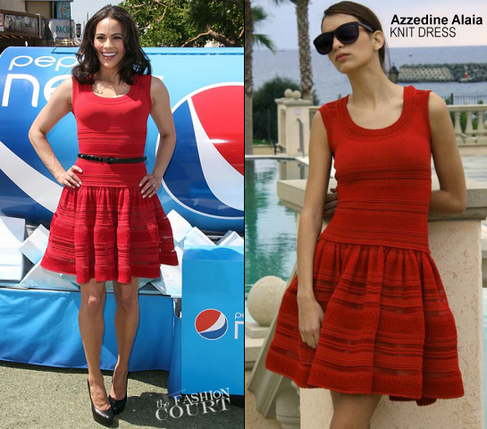Paula Patton in Azzedine Alaia | Pepsi Next 'Drink It To Believe It' LA Event