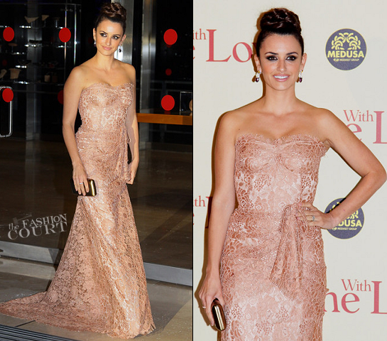 Penelope Cruz in Dolce & Gabbana | 'To Rome With Love' Rome Premiere