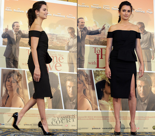 Penelope Cruz in Emilio Pucci | 'To Rome With Love' Rome Photocall