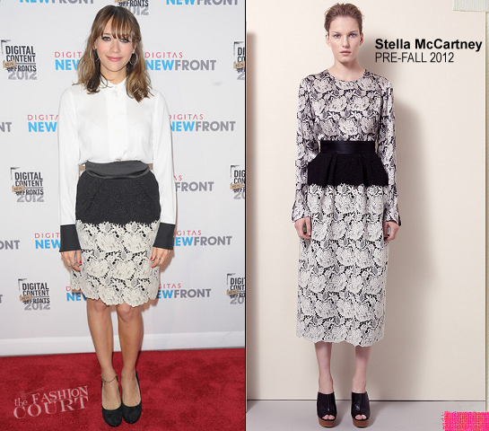 Rashida Jones in Stella McCartney | Digitas & The Third Act Present NewFront 2012