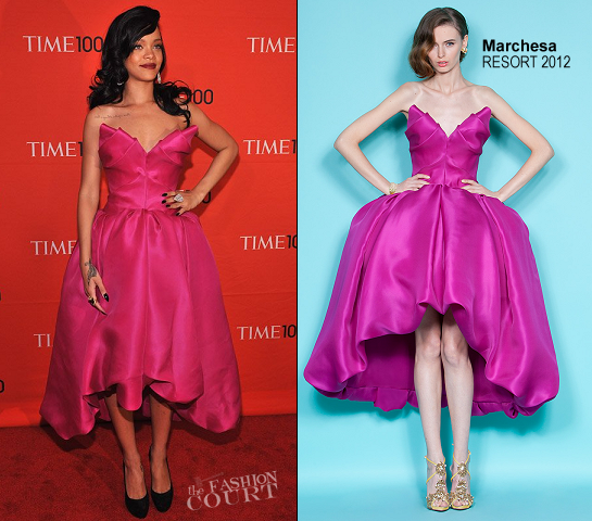 Rihanna in Marchesa | TIME 100 Gala