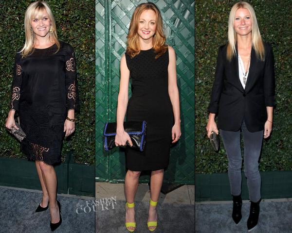 Reese Witherspoon, Jayma Mays & Gwyneth Paltrow in Stella McCartney