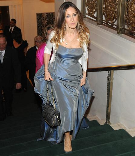 Sarah Jessica Parker in Oscar de la Renta | Carnegie Hall Medal Of Excellence Gala Honoring Bill Cunningham