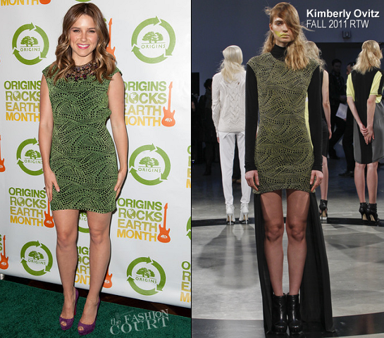 Sophia Bush in Kimberly Ovitz | 3rd Annual Origins Rocks Earth Month Concert