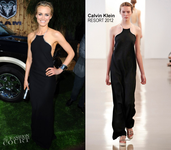 Taylor Schilling in Calvin Klein Collection | 'The Lucky One' LA Premiere