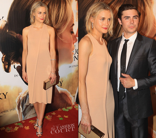 Taylor Schilling in Calvin Klein Collection | 'The Lucky One' Melbourne Premiere