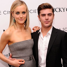 Taylor Schilling in Calvin Klein Collection | 'The Lucky One' NY Screening