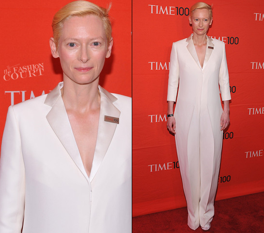Tilda Swinton in Celine | TIME 100 Gala
