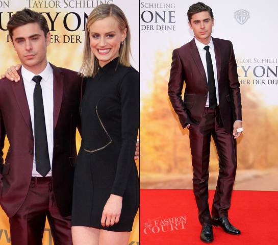 Zac Efron in George Clinton | 'The Lucky One' Berlin Premiere