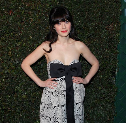 Zooey Deschanel in Stella McCartney | 'My Valentine' Video Premiere Hosted by Paul McCartney & Stella McCartney