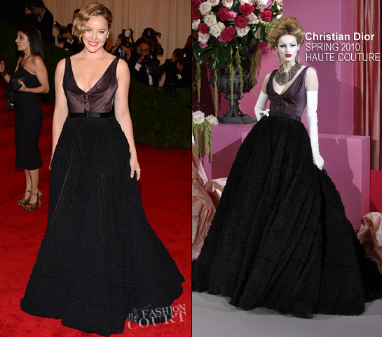Abbie Cornish in Christian Dior Couture | 2012 MET Gala