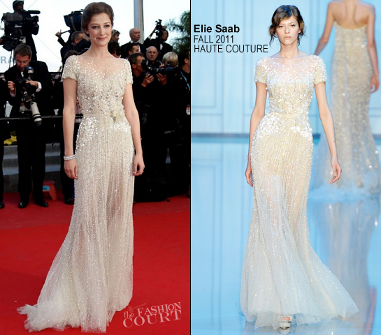 Alexandra Maria Lara in Elie Saab Couture | 'On The Road' Premiere - 2012 Cannes Film Festival