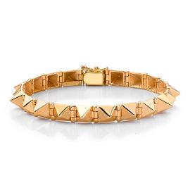 Anita Ko Gold Spike Bracelet