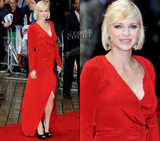 Anna Faris in Maria Lucia Hohan | 'The Dictator' London Premiere