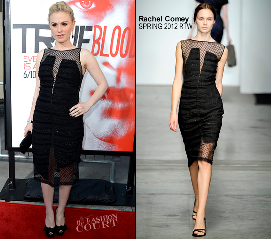 Anna Paquin in Rachel Comey | HBO's 'True Blood' 5th Season Premiere
