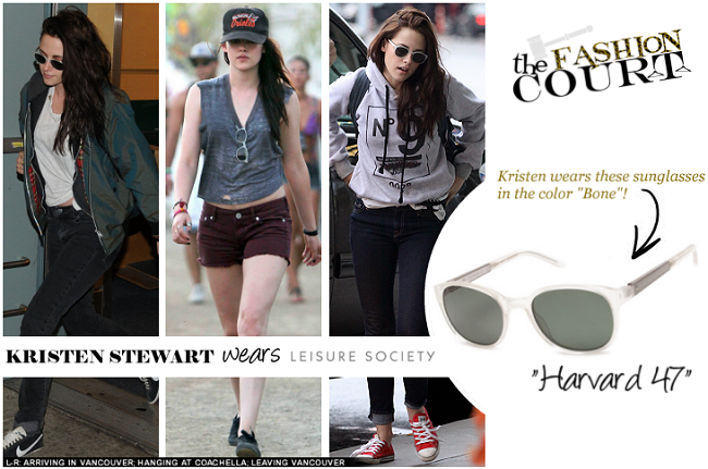 Kristen Stewart Has Her Eyes on Leisure Society Sunglasses!
