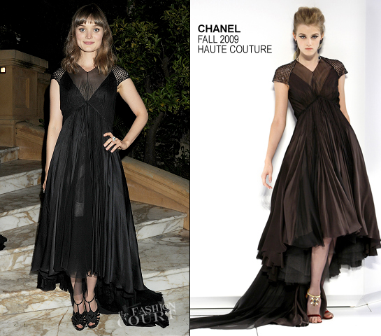 Bella Heathcote in Chanel Couture | 2012 Cannes Film Festival - 'Killing Them Softly' Premiere After Party